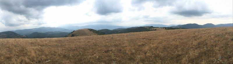 Montebibico - Spoleto da Monte Acetella