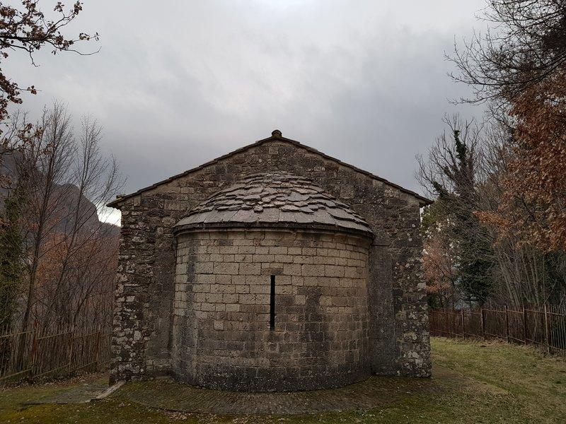 Chiesa di Santa Cristina - Caso - Sant'Anatolia di Narco